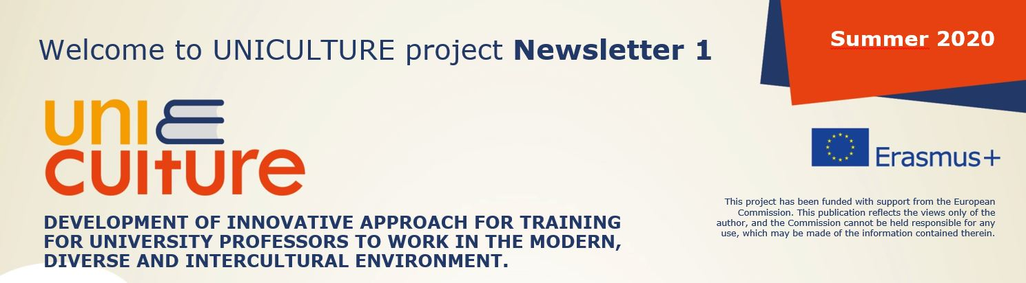 UNICULTURE Newsletter1
